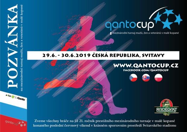 Pozvánka QantoCup 2019
